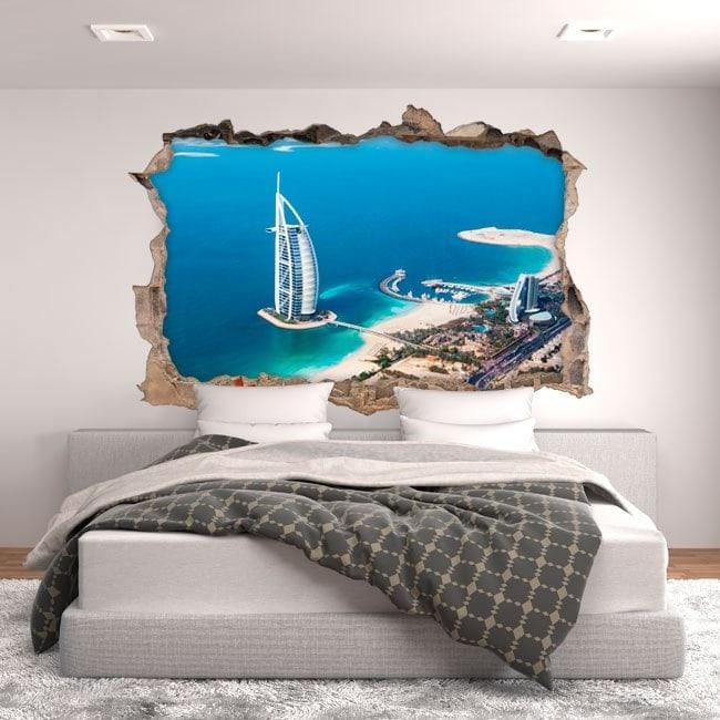 Vinilos 3D Burj Al Arab Dubai