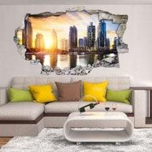 Vinilos 3D Puerto Marino Dubai