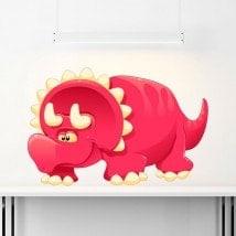 Pegatina Infantil Dinosaurio