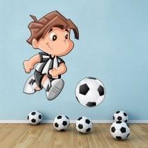 Vinilos Infantiles Futbolista