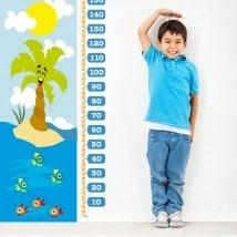 Vinilos Medidores Infantiles Días De Playa