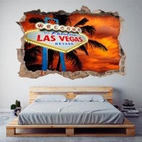 Vinilos 3D Cartel Las Vegas