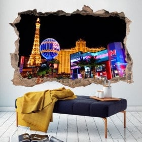 Vinilos 3D Agujero Pared Las Vegas