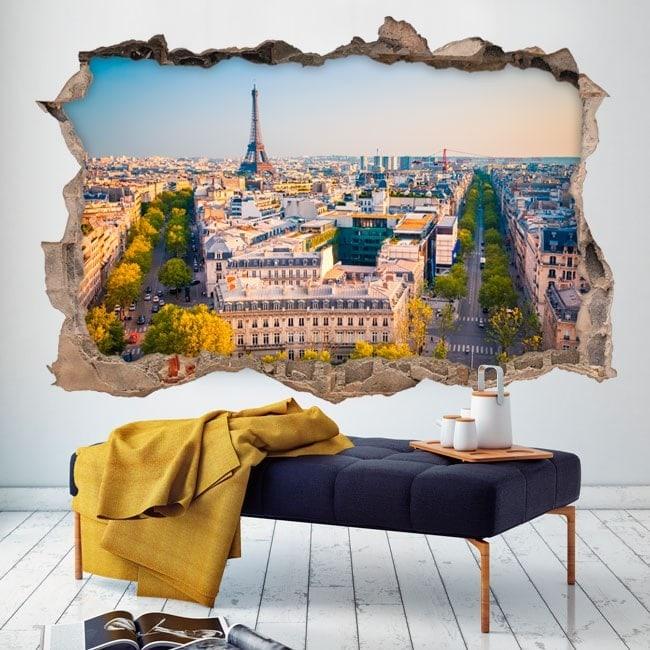 Vinilos Pared Rota París