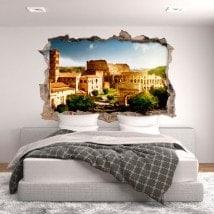 Vinilos 3D Coliseo Roma