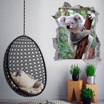 Vinilos 3D Koala