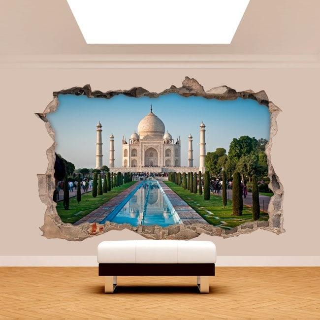 Vinilos 3D Taj Mahal