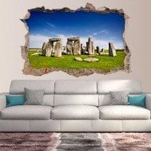 Vinilos 3D Stonehenge Inglaterra
