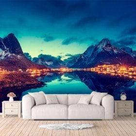 Fotomurales Reine Islas Noruega