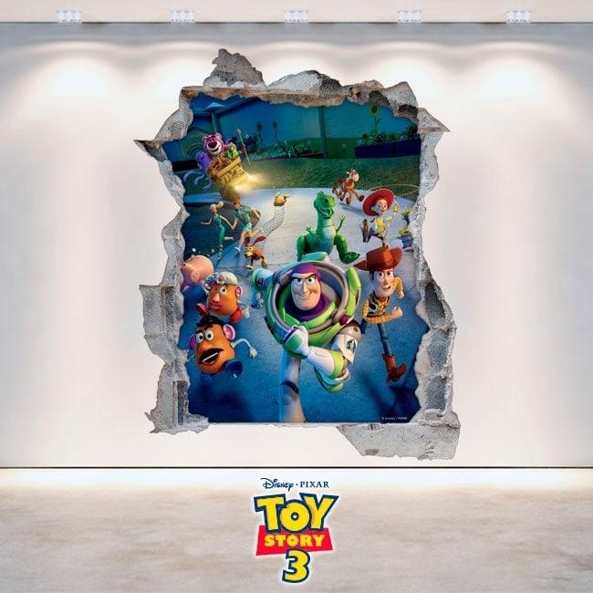 Vinilos Infantiles Toy Story 3