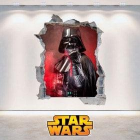Vinilos 3D Star Wars Darth Vader