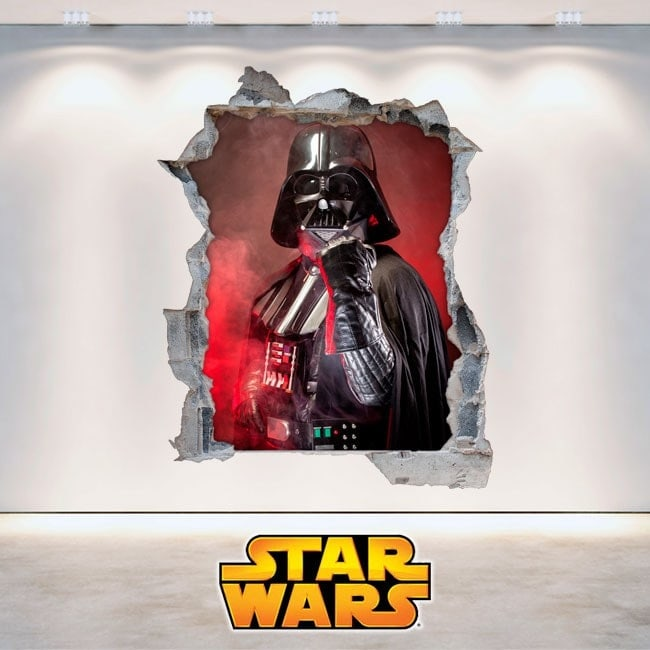 Vinilos 3D Star Wars Darth Vader
