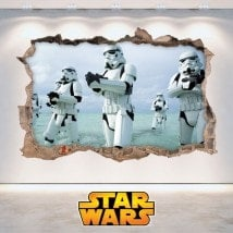 Pegatinas De Pared Star Wars 3D