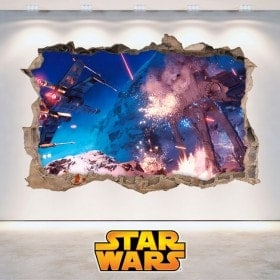 Vinilos De Pared Star Wars 3D