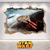 Vinilos Decorativos Star Wars 3D