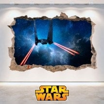Pegatinas Pared Star Wars