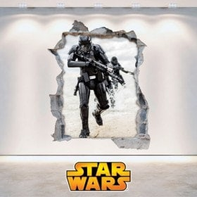 Pegatinas De Paredes Star Wars 3D