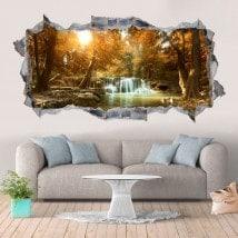 Vinilos Decorativos Cascadas Y Naturaleza 3D