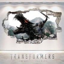 Vinilos 3D Transformers La Era De La Extinción