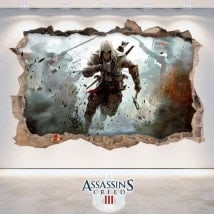 Vinilos 3D Assassin's Creed 3