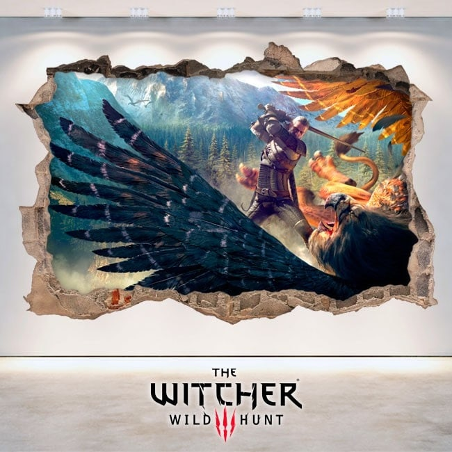 Vinilos Decorativos The Witcher 3 Wild Hunt