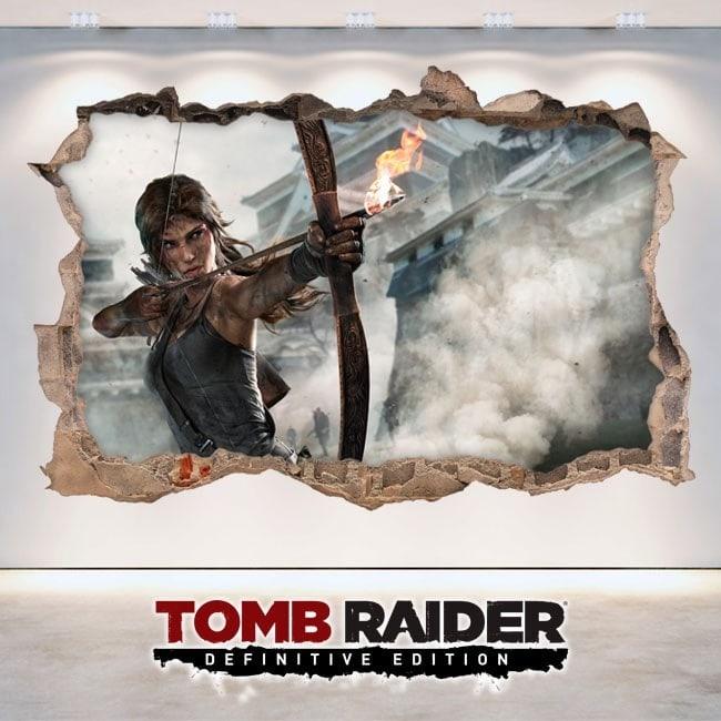 Vinilos Videojuegos 3D Lara Croft Tomb Raider Definitive Edition