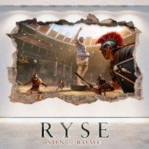 Vinilos Y Pegatinas 3D Ryse Son Of Rome