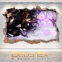 Vinilos Decorativos 3D Deus Ex Mankind Divided