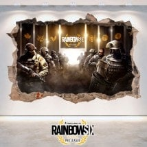 Vinilos 3D Tom Clancy's Rainbow Six Siege Pro League