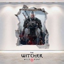 Vinilos 3D The Witcher 3 Wild Hunt