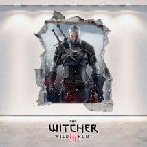 Vinilos 3D The Witcher 3 Wild Hunt
