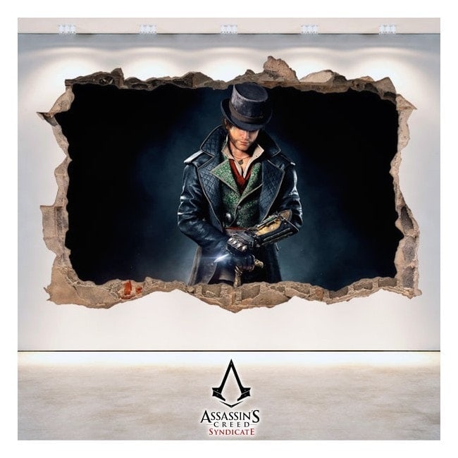 Vinilos 3D Assassin's Creed Syndicate