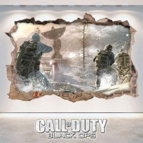 Vinilos Decorativos 3D Call Of Duty Black Ops