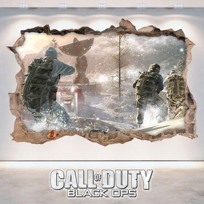 Vinilos Decorativos 3D Call Of Duty Black Ops
