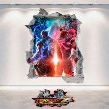 Vinilos Decorativos 3D Tekken 7