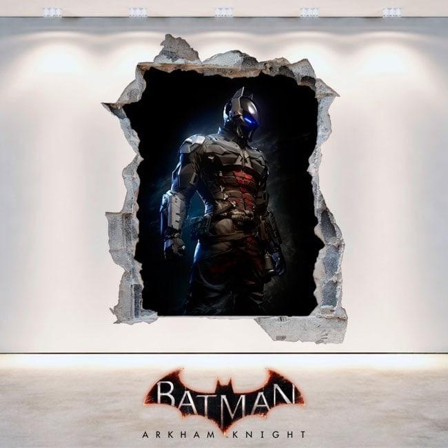 Vinilos Decorativos 3D Batman Arkham Knight