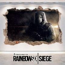 Vinilos 3D Tom Clancy's Rainbow Six Siege