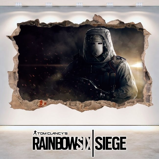 Vinilos 3D Tom Clancy's Rainbow Six Siege