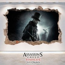 Vinilos 3D Assassin's Creed Syndicate Jack The Ripper