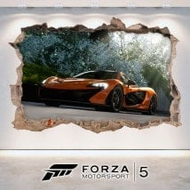 Vinilos Decorativos 3D Forza Motorsport 5