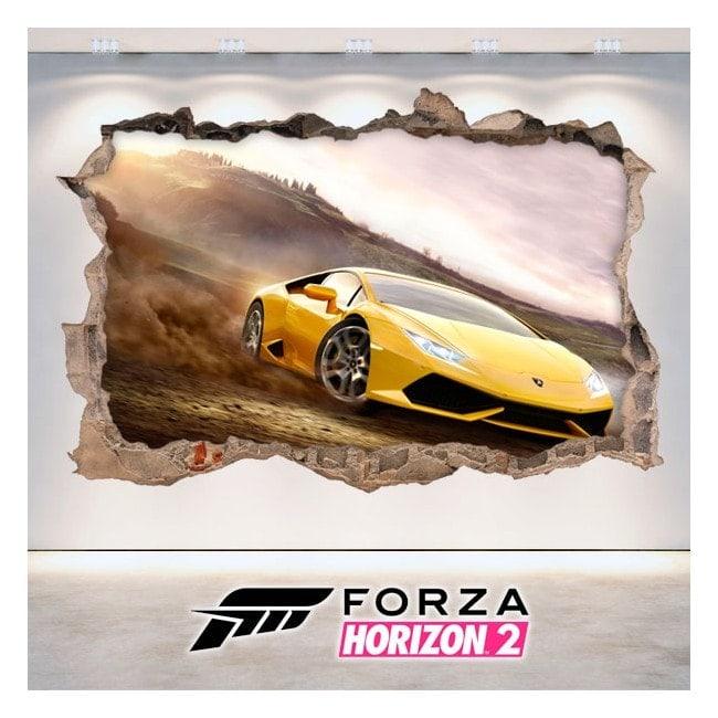 Vinilos Decorativos 3D Forza Horizon 2