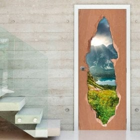 Vinilos Para Puertas Naturaleza En Eslovaquia 3D
