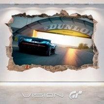 Vinilos 3D Gran Turismo Bugatti Vision
