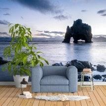 Fotomurales Roca Dinosaurio Islandia
