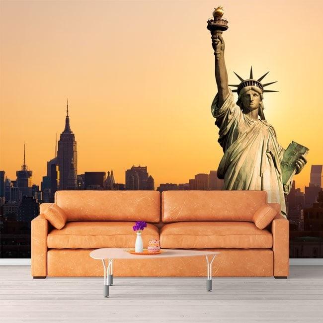 Fotomurales Estatua De La Libertad Nueva York