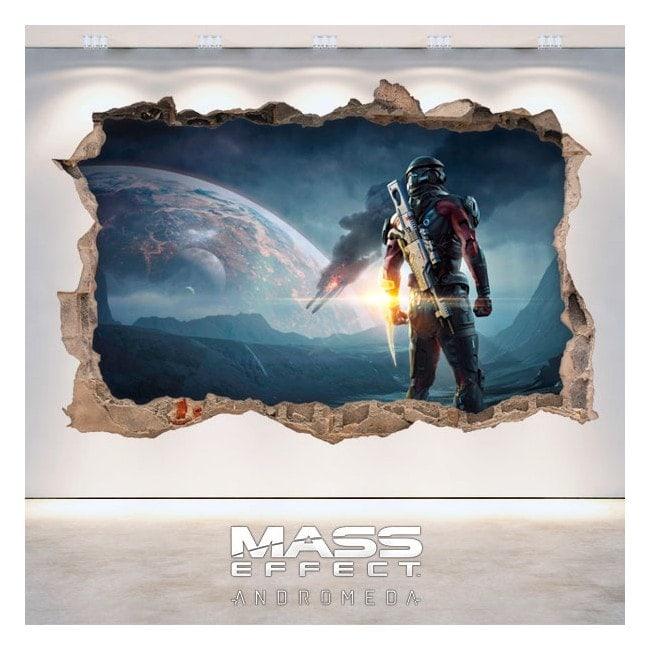 Vinilos Decorativos 3D Mass Effect Andromeda
