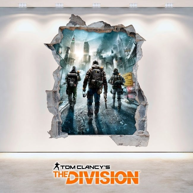 Vinilos Decorativos 3D Tom Clancy's The Division