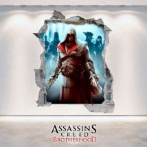 Pegatinas Y Vinilos 3D Assassin's Creed Brotherhood