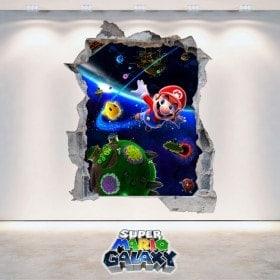 Vinilos Videojuegos 3D Super Mario Galaxy