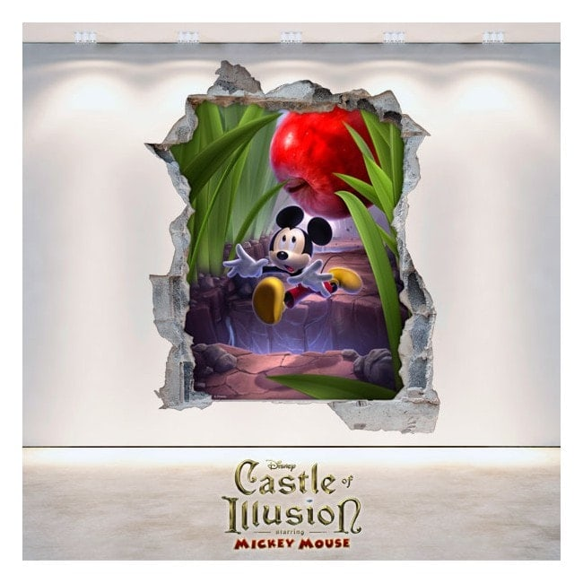 Vinilos Y Pegatinas Infantiles Castle Of Illusion 3D